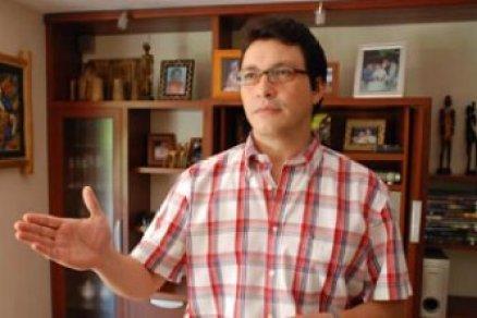 Caicedo en épocas de rector de UniMagdalena